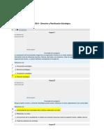 DD014 - Dirección y Planificación Estratégica Examen 2