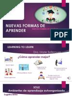 Nuevas Formas de Aprender