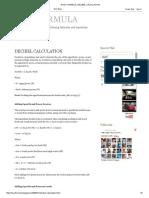 Hvac Formula_ Decibel Calculation