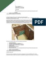 Datos de Especificacines de Cajas Sc 275