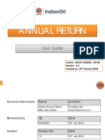 How to File IOCL Annual Returns
