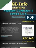 Réparation ordinateur Laval