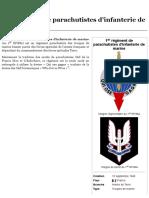 1errégiment de parachutistes d'infanterie de marine — Wikipédia