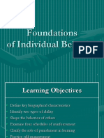 foundations of ind behaviour 1