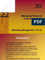 managing personal communications