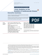2019 ACC AHA Guidelines for Primary Prevention of CV Disease