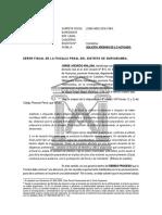 modelo SOLICITO ARCHIVO INV Fiscal
