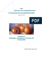 Enfoques, funciones y formas de evaluación