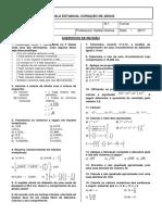 Revisão - Matemática