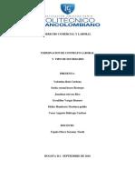 Terminacion de Contrato Laboral y Tipo de Sociedades Completo (1)