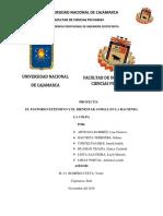 PROYECTO DE INVESTIGACIÓN FILOSOFÍA