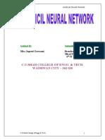 61904126 31 34 Artificial Neural Network