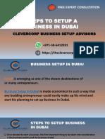 Steps to Setup Business in Dubai