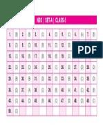 Nso Level-1 Set a Answer Key Class-5