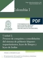Unidad 2 Proceso de conquista y consolidación del sistema de gobierno hispano (Avances)