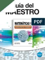 GUIA DEL MAESTRO MATEMATICAS 1.pdf