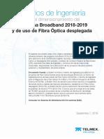 CriteriosdeIngenieria2018 Telmex