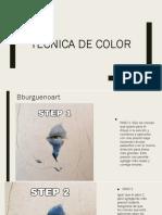 Técnica de color