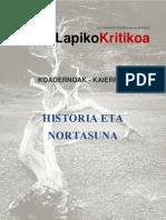 LAPIKOA HISTORIA TXOSTENA