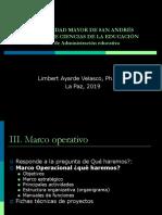 Marco Operativo