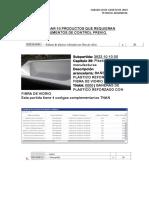 Investigar 10 Productos Que Requieran Documentos de Control Previo
