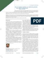 Evolución de complejos metálicos con aplicaciones antitumorales