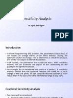 LP sensitivity-OR