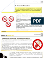 politica de prevención de sustancias psicoactivas
