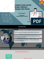 PPT Translate Jurnal Kontrasepsi Pada Ibu DM
