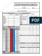 4C Expanded - Character Sheet