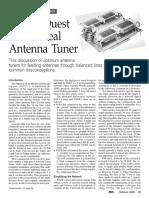 Antenna Tuner Ideal
