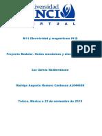 M11 Electricidad y magnetismo IN B Proyecto Modular