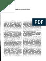 Ángel Palerm Vich.  Etnológica Teoría  III