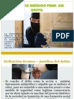 CONCEPTO JURÍDICO PENAL DEL DELITO
