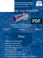 Exposé GibbsCam Tournage