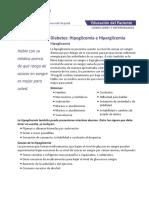 Northwestern Medicine Diabetes Hipoglicemia Hiperglicemia