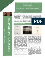 Encuentro Con Autores. Dossier Informativo. Ana Sofía Pérez Bustamante