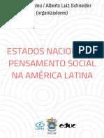 estado nacional e pensamento social na américa latina