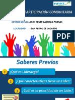 Liderazgo y Participación Comunitaria