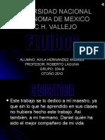 FLUIDOS, Universidad Nacional Autonoma de Mexico