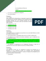 1. Quiz 1 Constitucional Colombiano