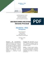 OK.diccionario Jurídico-Derecho Procesal