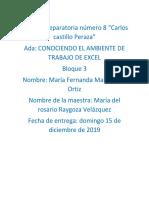 Ambiente Excel Maria Fernanda Maldonado Ortiz
