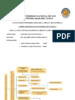 MARCO CONCEPTUAL, INDICE TENTATIVO Y ALNCANCE DE LA INVESTIGACION