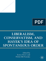 Peter McNamara, Louis Hunt - Liberalism, Conservatism, and Hayek's Idea of Spontaneous Order-Palgrave Macmillan (2007).pdf