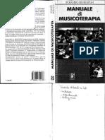 Benenzon, Manuale Di Musicoterapia