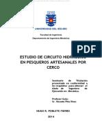 ESTUDIO DE CIRCUITO HIDRAULICO EN PESQUEROS ARTESANALES POR CERCO