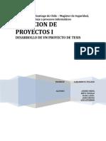 DIRECCION DE PROYECTOS I