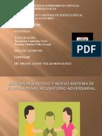 Sistema Inquisitivo y Proceso Penal Acusatorio