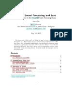TarsosDSP 2.3 Manual